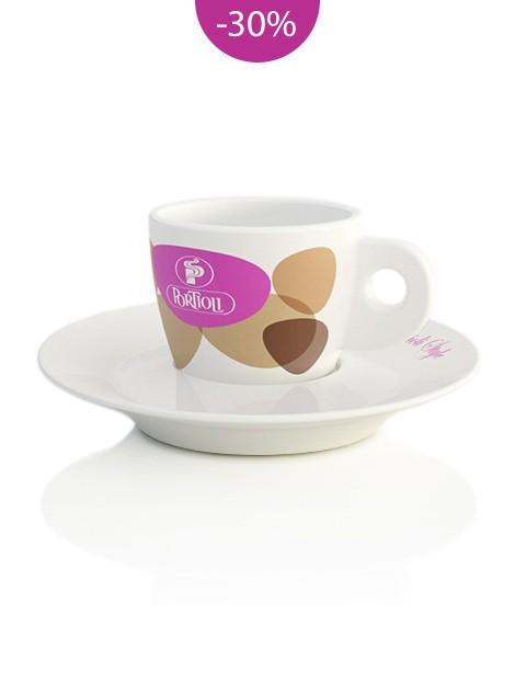 Mosaic cappuccino